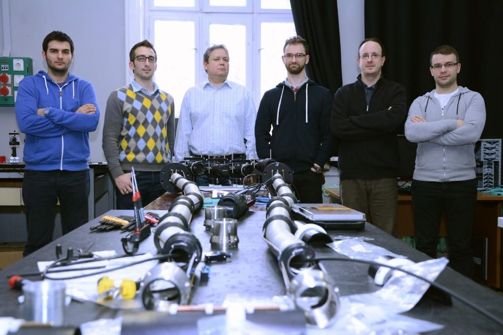 A magyar csapat.  Balról jobbra: Bodnár Gábor, Ilkei Tamás, dr. Kocsis Gábor, Cseh Gábor, dr. Szepesi Tamás, Szabolics Tamás